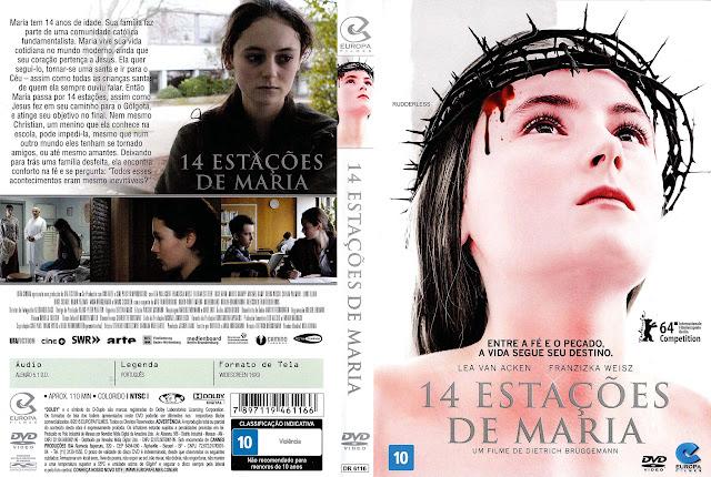 Capa DVD 14 ESTAÇÕES DE MARIA