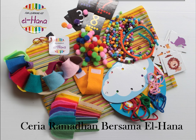 ramadhan, busy bag, el-hana