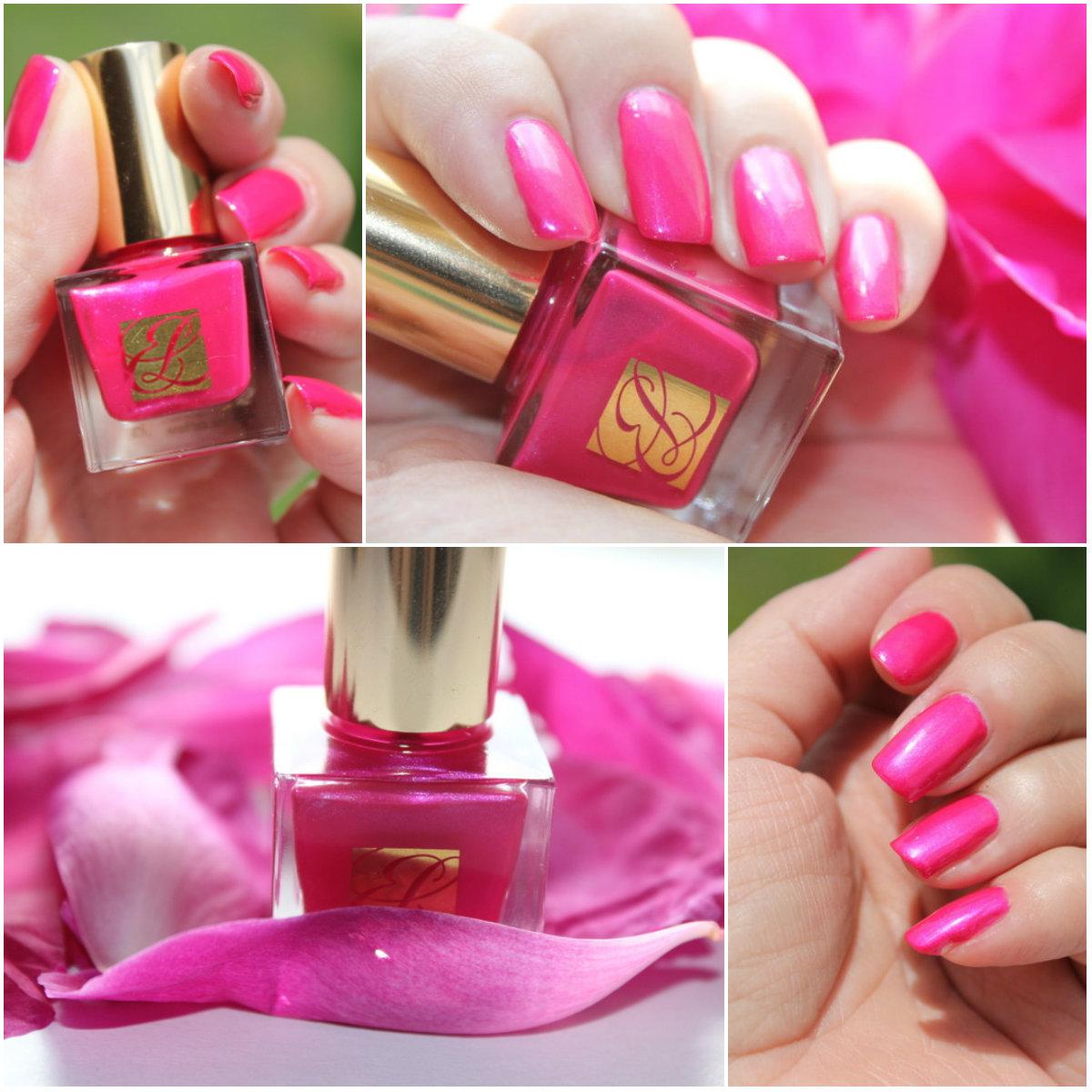 Отзыв: Estee Lauder  Ягодный лак для ногтей Pure Color в оттенке #06 Berry Hot.