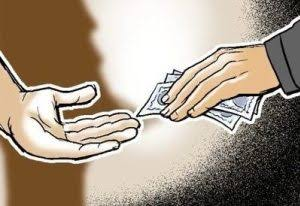 Police Officers Detained For Accepting Bribe
