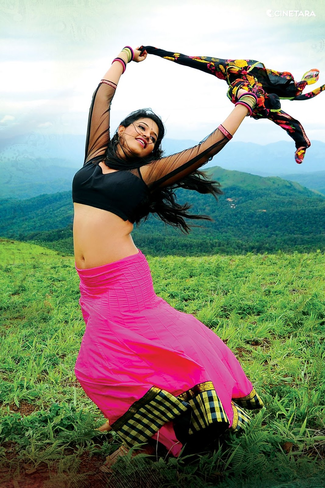 Anjali sexiest navel cleavage photos