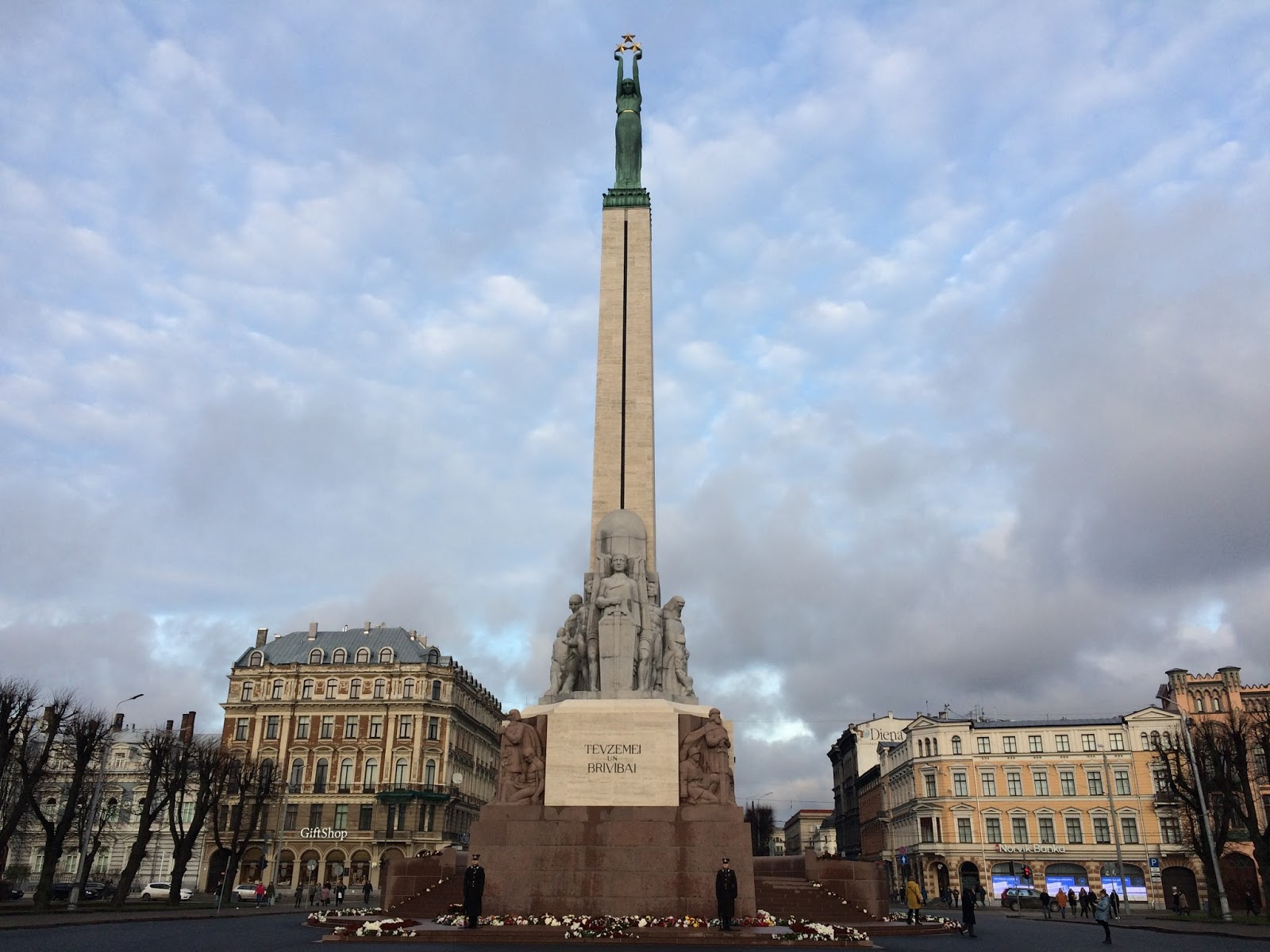 Image of Freedom Monument in Riga