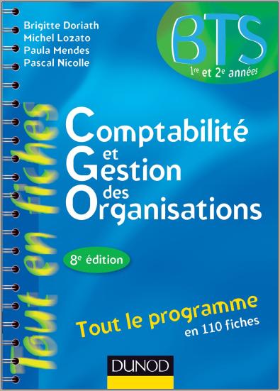 Livre : Comptabilité et gestion des organisations - Brigitte Doriath PDF