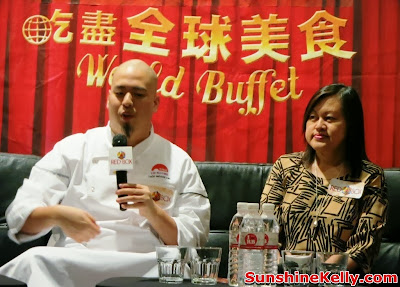World Buffet, Red Box Karaoke, lee kum kee, international buffet, rex box, green box, karaoke buffet food, celebrity chef bruce lim