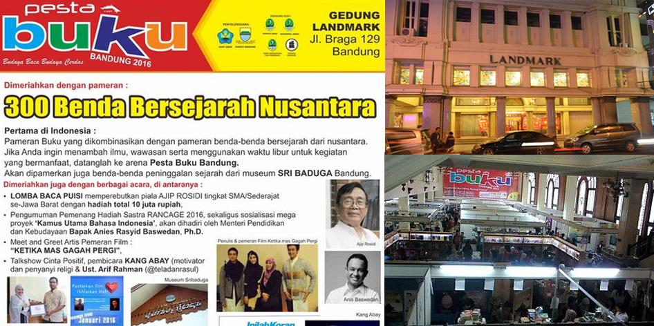Pesta Buku Bandung 2016