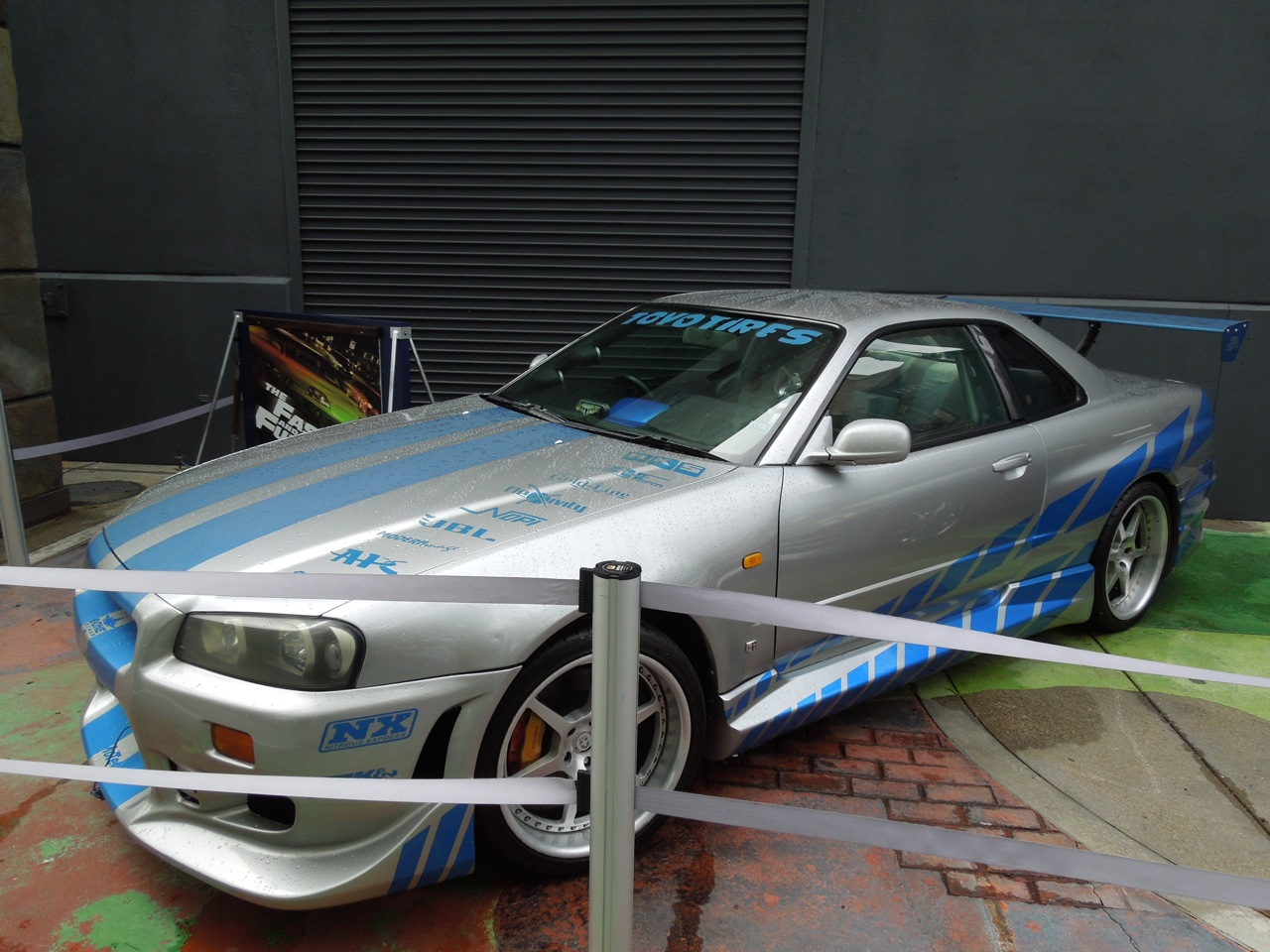 Hollywood Movie Costumes and Props: Original cars from the ...Fast And Furious Cars Skyline