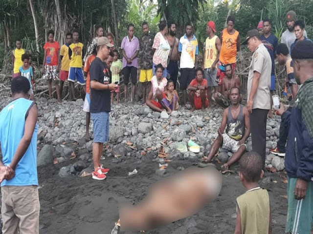 Polisi Evakuasi 1 Warga Manokwari Tewas Akibat Laka Laut di Masabui