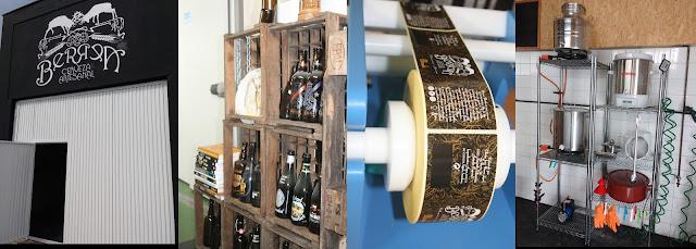 Instalaciones de Berrea Cerveza Artesanal