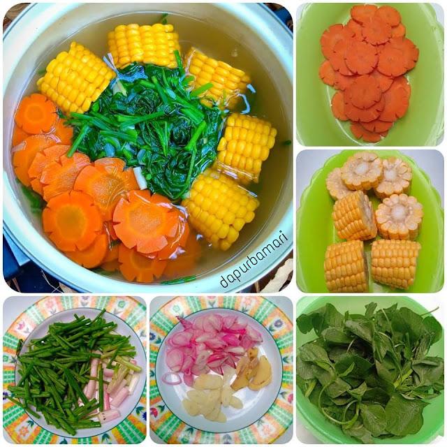 Cara membuat Sayur Bening Segar dan nikmat