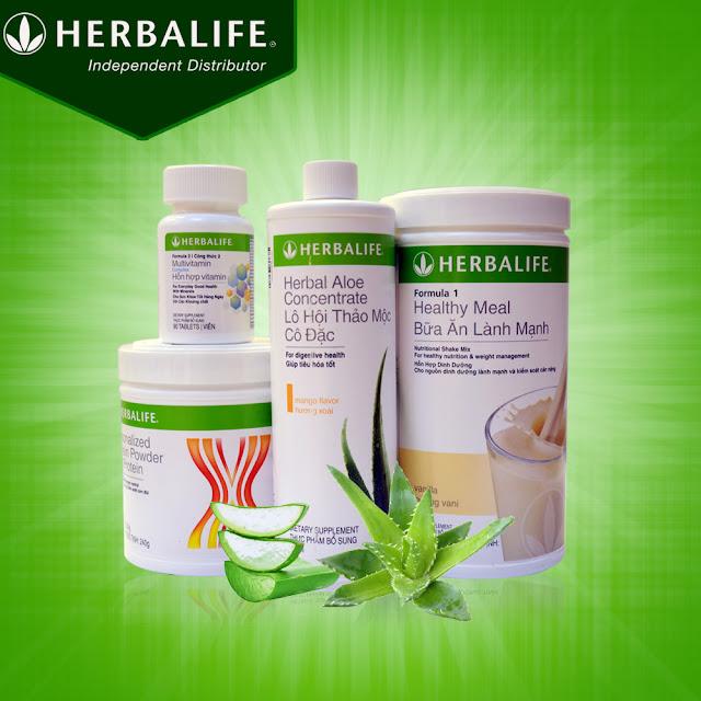 Sản phẩm herbalife dinh dưỡng thấp cho người già