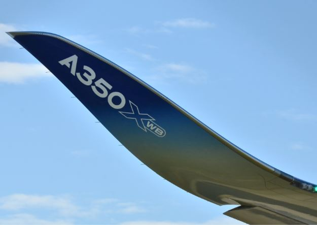 Airbus A350-900 wing design