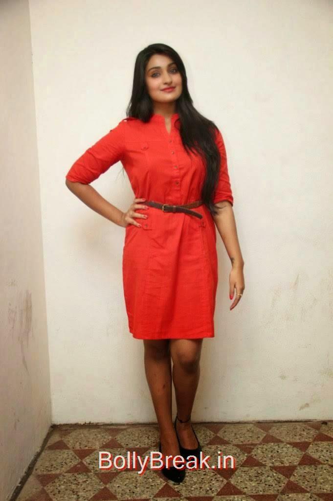 Jai Quehaeni Photos At CSK Movie Audio Launch, Actress Jai Quehaeni Hot Pics in red Dress