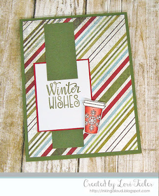 Winter Wishes card-designed by Lori Tecler/Inking Aloud-stamps from Verve Stamps