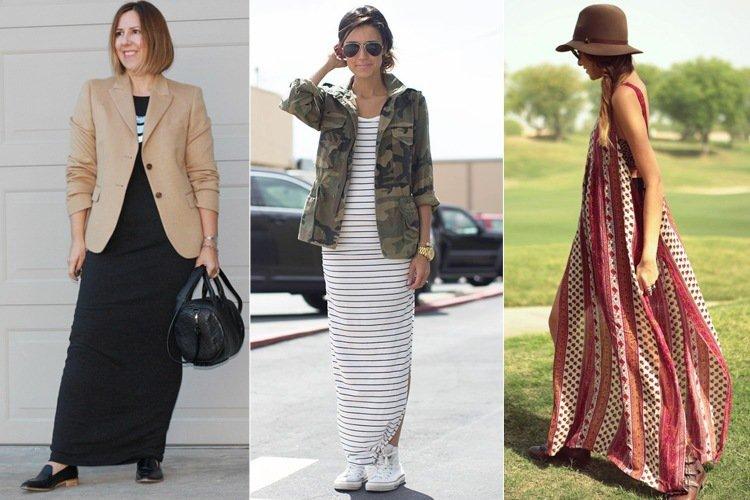 С какой обувью носить длинные юбки - фото и советы