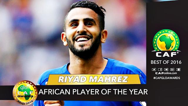Maharez melhor jogador africano 2016