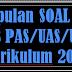 SOAL LENGKAP UAS/PAS SMP/MTS MATEMATIKA  SEMESTER GANJIL