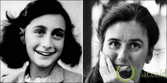 Barbro Karlen reinkarnasi Anne Frank
