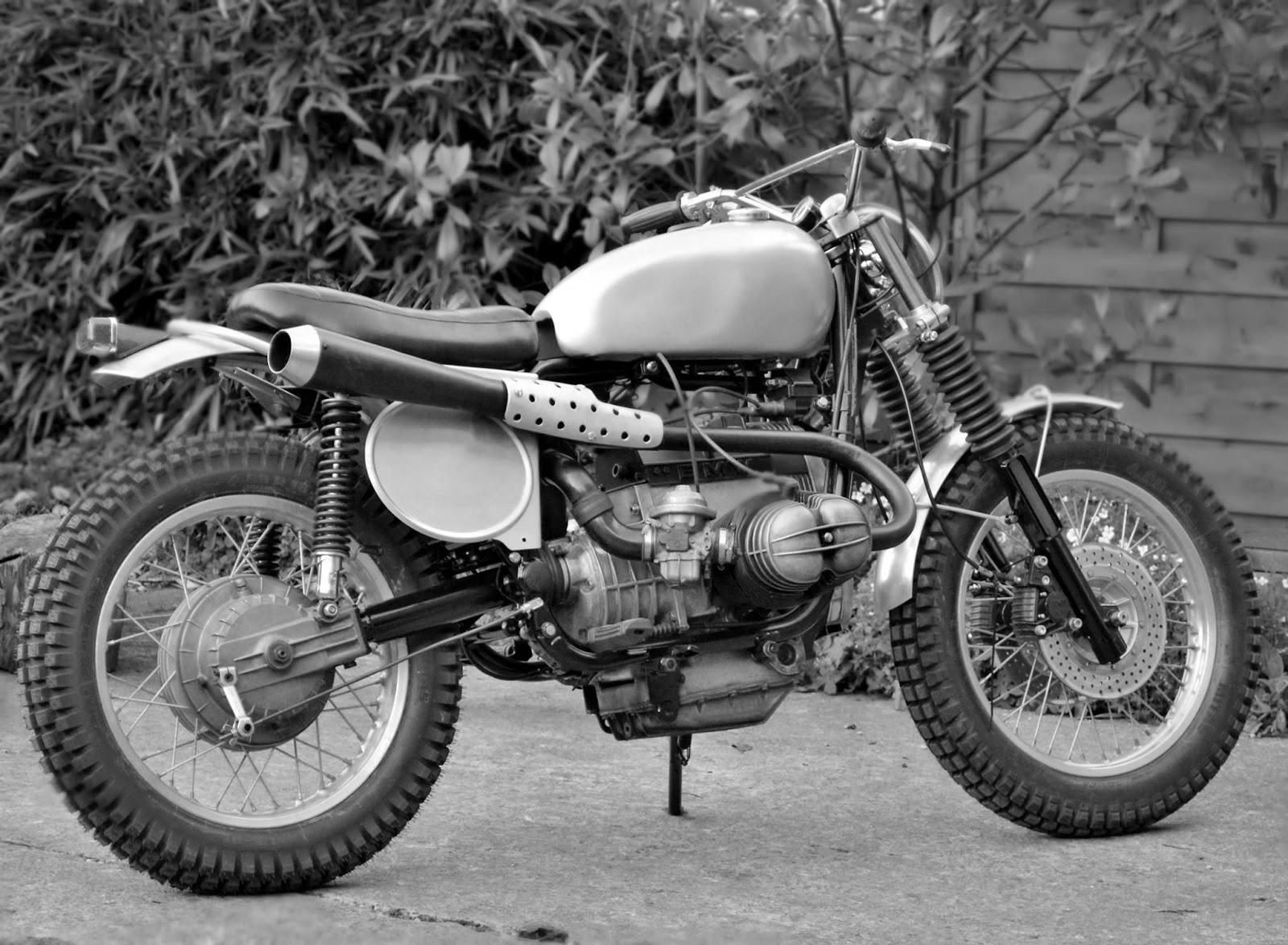 Dust Motorcycles BMW R80 Scrambler TRI BEEMER
