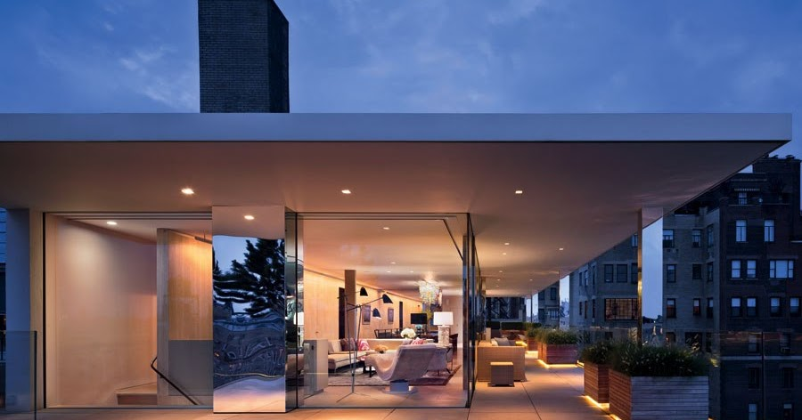 Loveisspeed A Glass Walled Penthouse On New York S