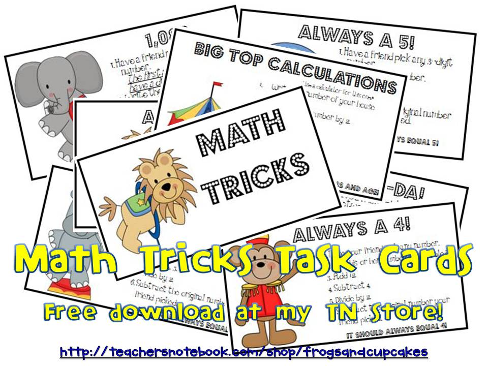 Tales of Frogs and Cupcakes: Math Magic Tricks
