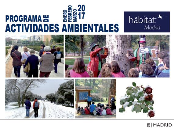 Programa H Bitat Madrid Actividades Ambientales Enero