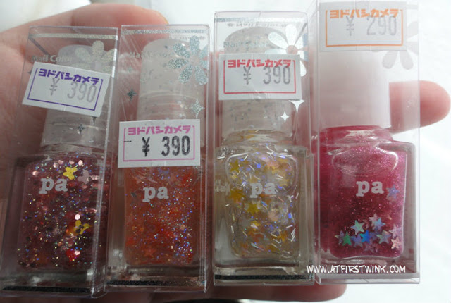 pa dear laura nail polishes AA11, AA05, AA06, and A46