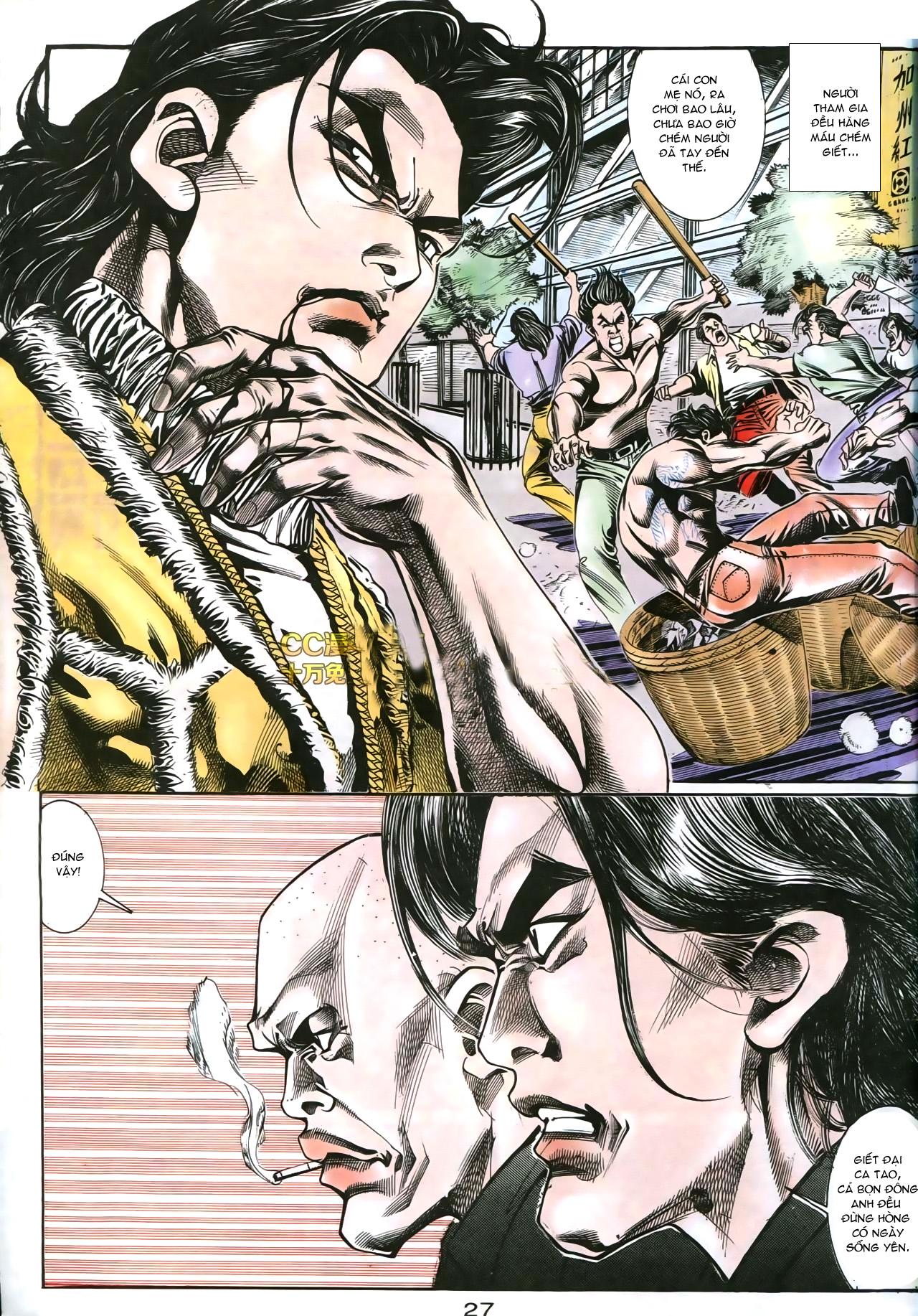 Người Trong Giang Hồ chapter 178: bối cảnh quạ đen trang 14