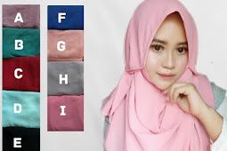 Jilbab Instan (Pastan) Tali Cantik dan Grosir