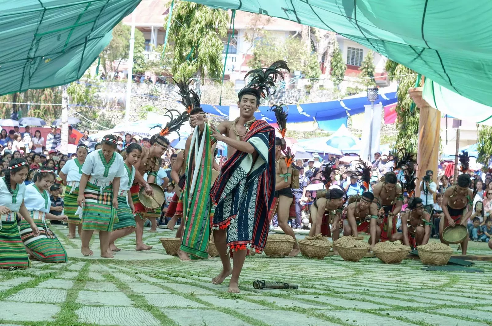 Ethno-Indigenous Cultural Presentation 13th Lang-Ay Festival Bontoc Mountain Province Cordillera Administrative Region Philippines