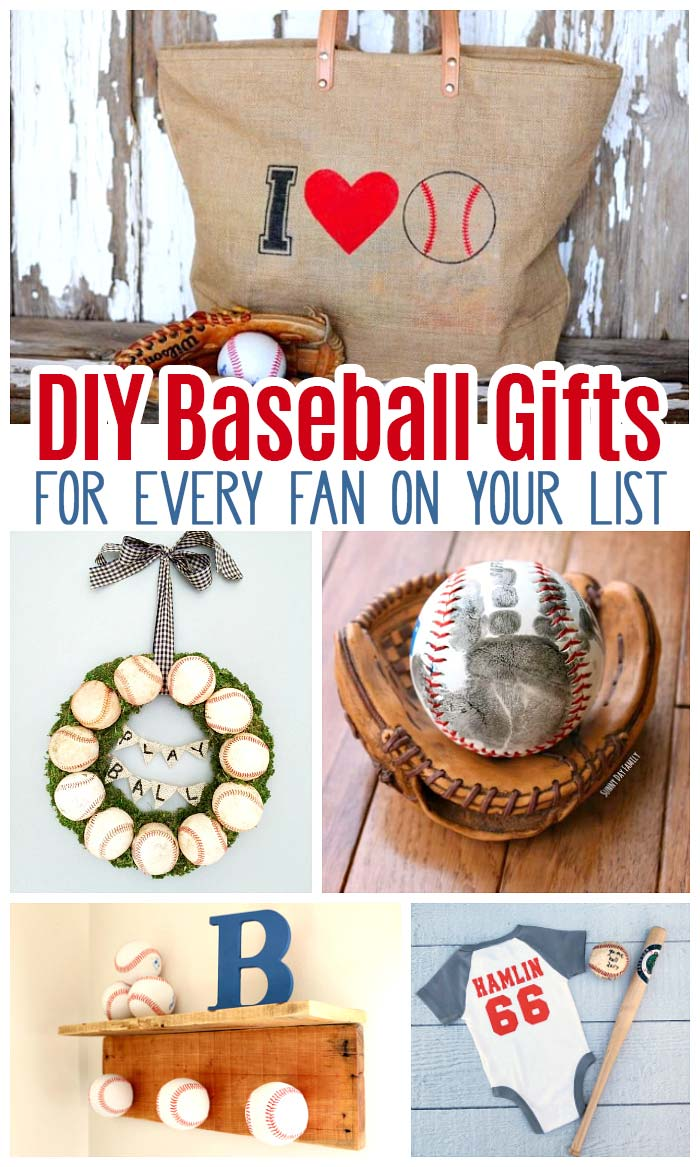 Handprint Baseball Fathers Day Gift With Free Printable