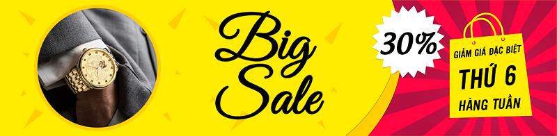 Tigold giảm giá thứ 6 hàng tuần