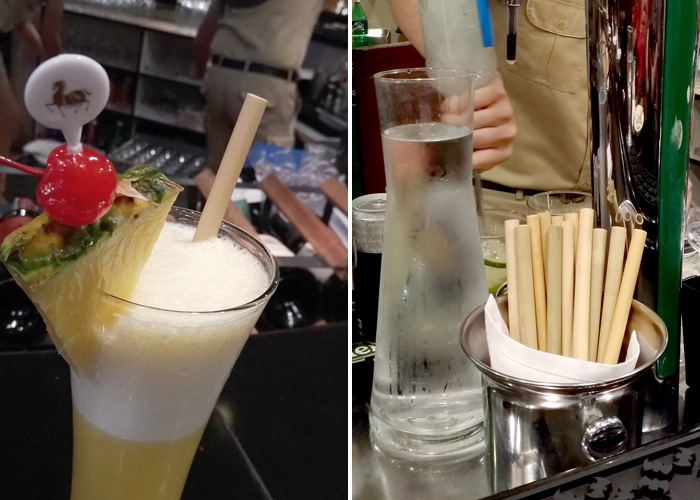 Re-usable Bamboo Straw