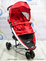Kereta Bayi LightWeight BABYELLE BE-S800 Infinite dengan Travel Bag