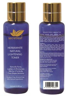 herbawhite natural lightening secretleaf