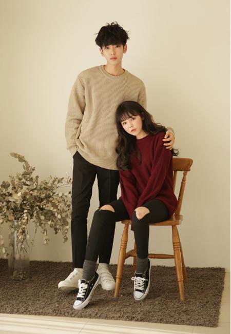 Korean Couple Fashion - Official Korean Fashion-5709