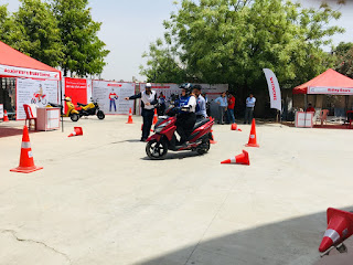 Honda's National Road Safety Awareness Campaign for college students reaches Jaipur