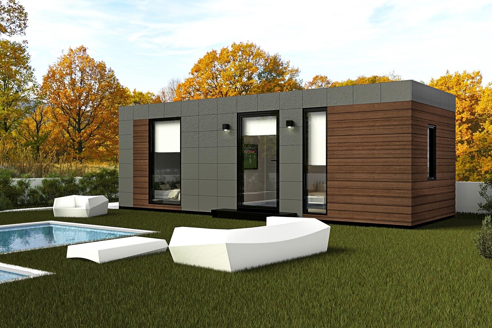 Construcci n modular lo mejor para campings y albergues - Construccion de bungalows ...