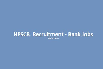 HPSCB Recruitment 2016