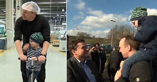 Εργάτες σε εργοστάσιο χάρισαν 3.300 υπερωρίες σε συνάδελφό τους για να μείνει με τον 3 ετών γιο του που παλεύει με τη λευχαιμία