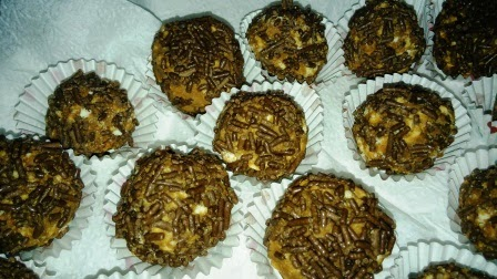 Receta de trufas de chocola