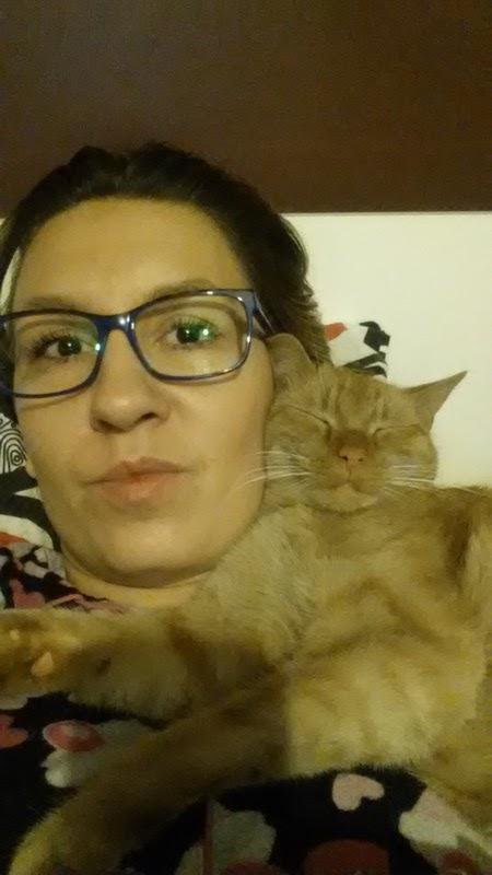 selfie z kotem