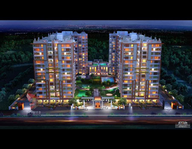 Unique 3D Architectural Rendering  Design Of  Township
