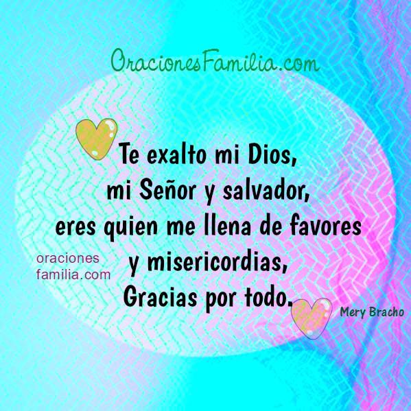 Oración de Buenos días, frases de la mañana, imágenes con oración corta al levantarse, bendiciones de Dios por Mery Bracho