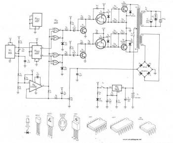 300Watt Inverter circuit diagram  PCB layout