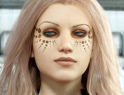 Ultimate Make-Up: Sci-Fi for Genesis 8 Female