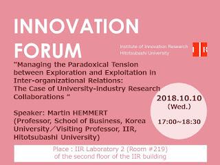 Forum 2018.10.10 Martin HEMMERT