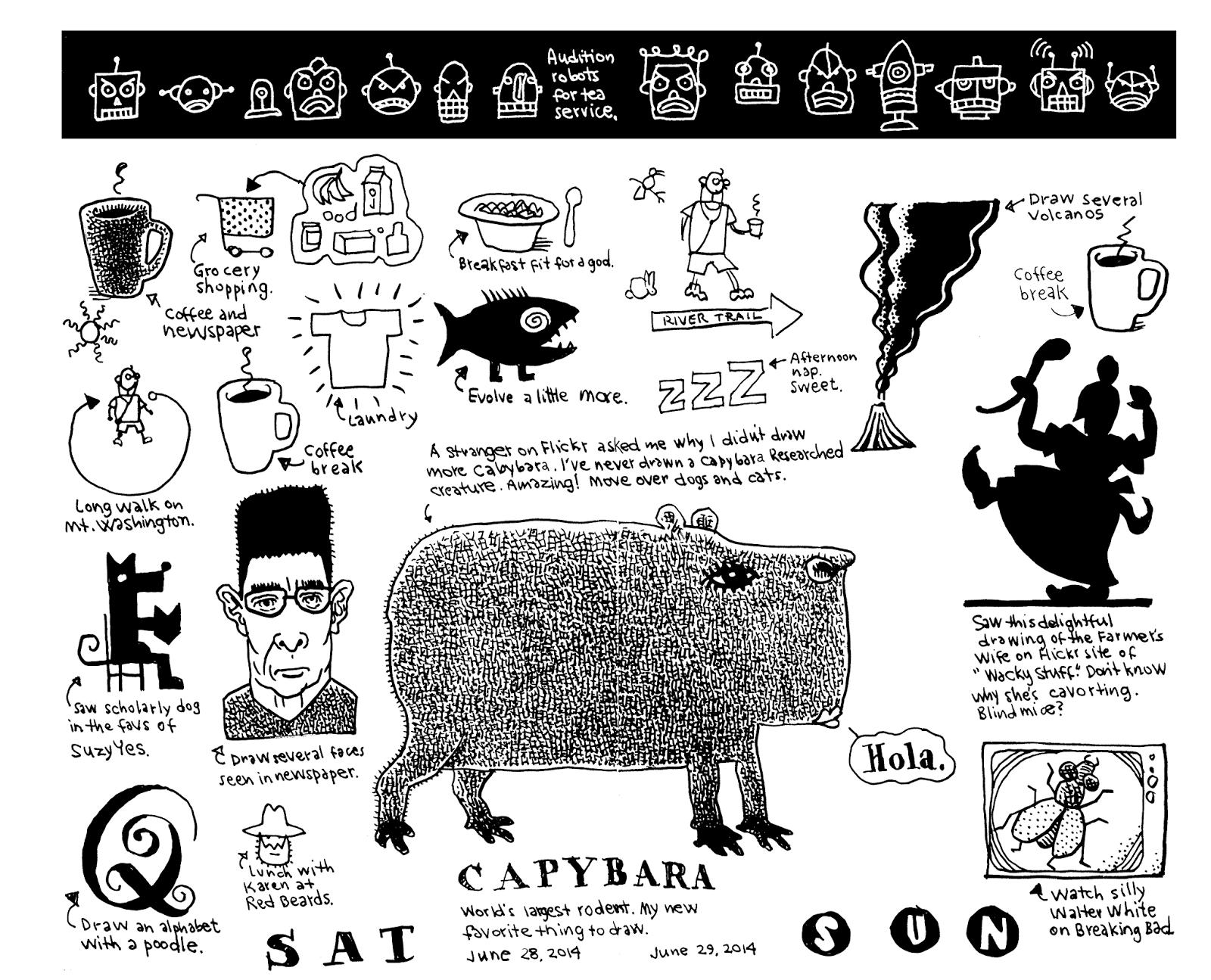 Don Moyer Sketchbook: June 2014