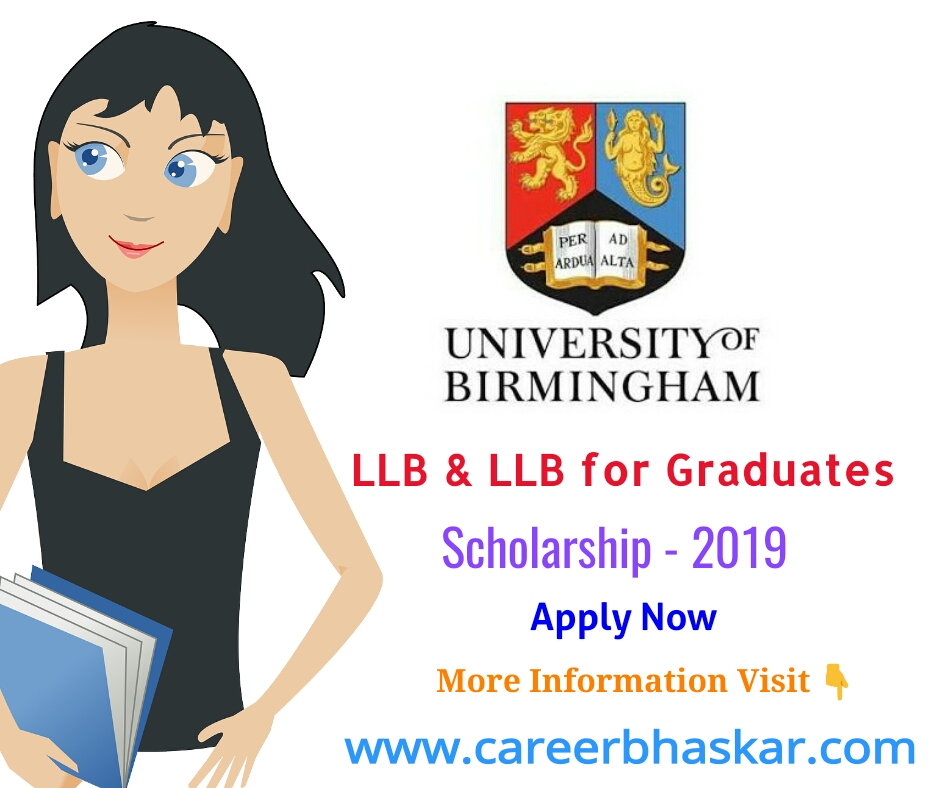LLB and LLB for Graduates Scholarship 2019