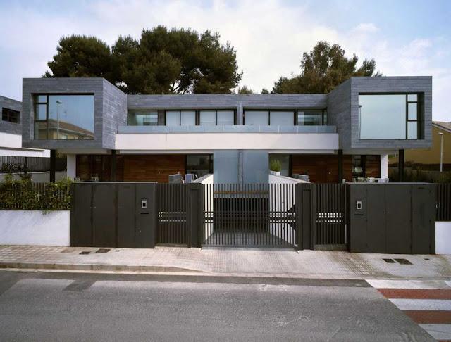 60 Desain Pagar Rumah Mewah Buat Hunian Tampil Eksklusif Rumahku Unik