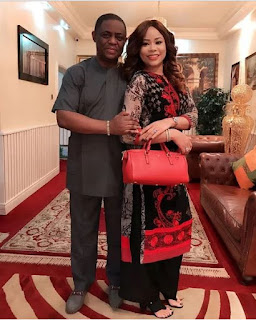 Fani Kayode praises his wife
